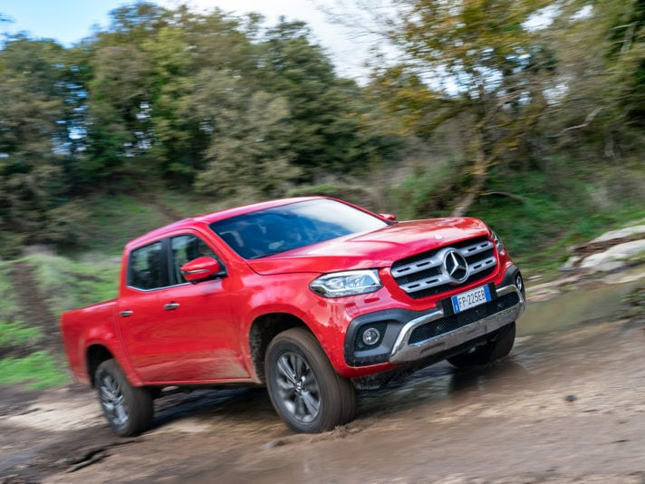 Mercedes-Benz Classe X 350, il pick-up di lusso da 258 CV