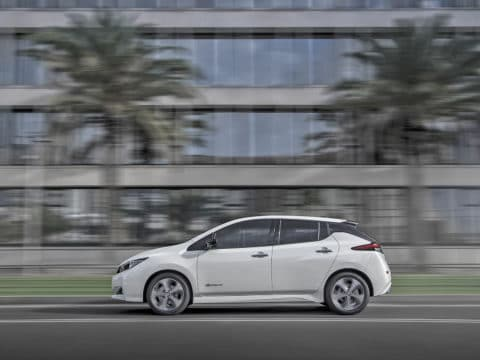 The new Nissan LEAF: the world's best-selling zero-emissions ele