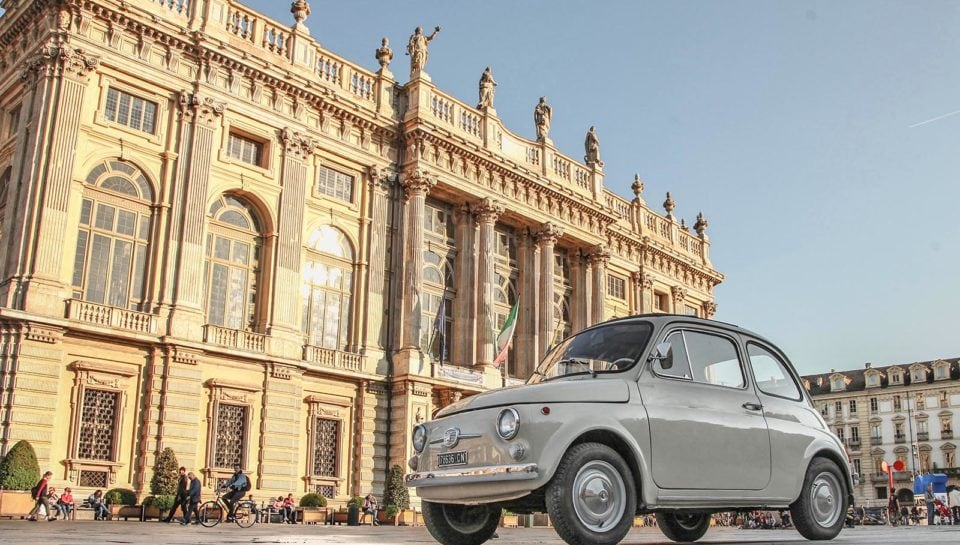 "Fiat 500 del MoMA esposta alla mostra ""The Value of Good Design"""