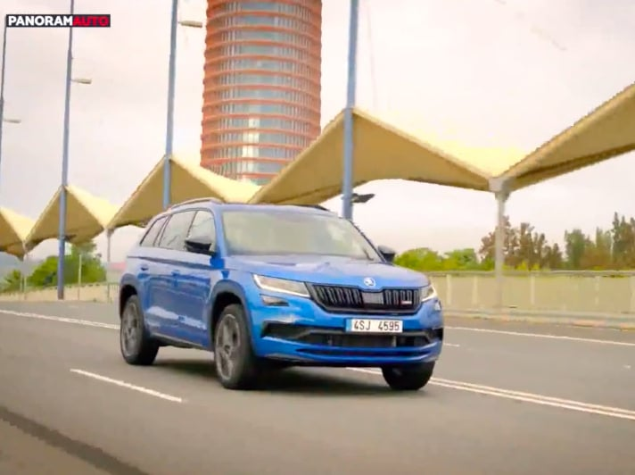 Skoda Kodiaq RS, il nuovo video