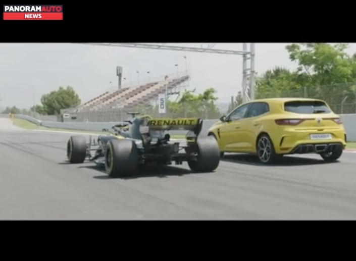Renault Megane RS Trophy, il video in Portogallo