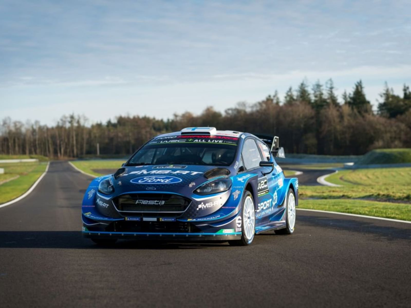 ford fiesta wrc 2019 le foto rally panoramauto. Black Bedroom Furniture Sets. Home Design Ideas
