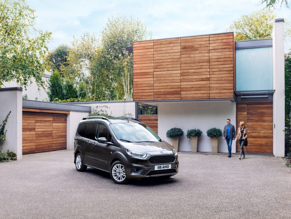 2017 Ford Tourneo Courier