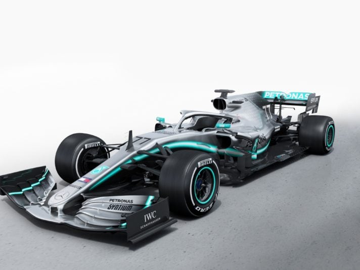 Mercedes F1 W10 EQ Power+, le foto