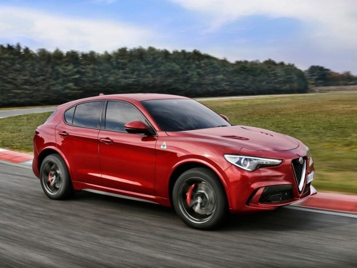Stelvio quadrifoglio icon wheels