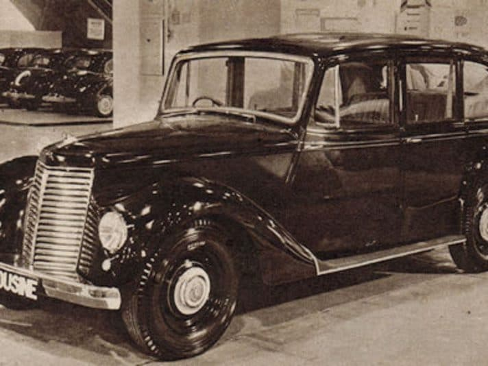Armstrong Siddeley 18 Limousine