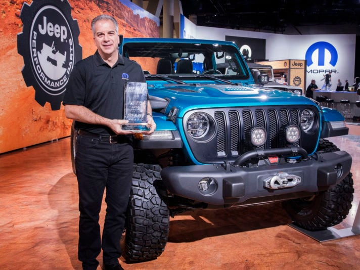 Jeep® Wrangler Earns 10th Consecutive SEMA '4x4/SUVof the Year' Award