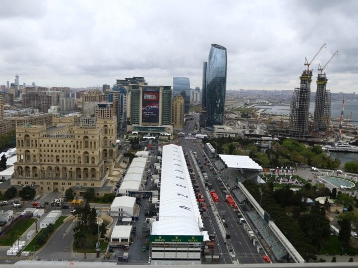 Ahead of 2019 Azerbaijan Grand Prix in Baku