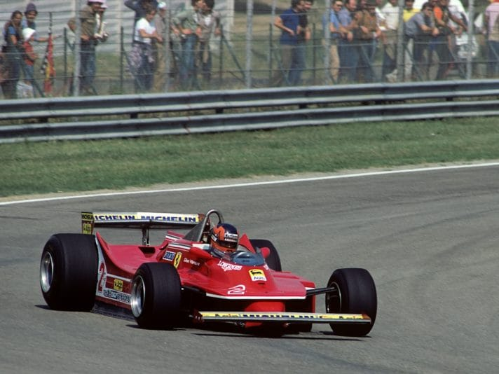 Gilles Villeneuve, Grand Prix Of Italy