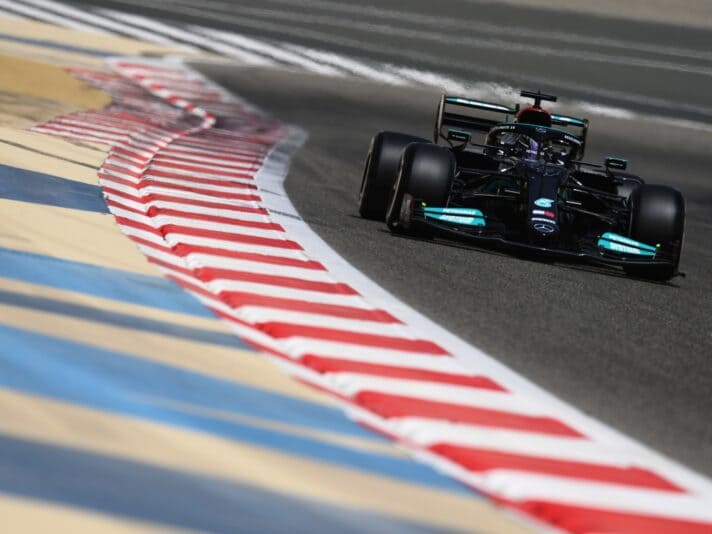 Formula 1 Testing in Bahrain - Day 2